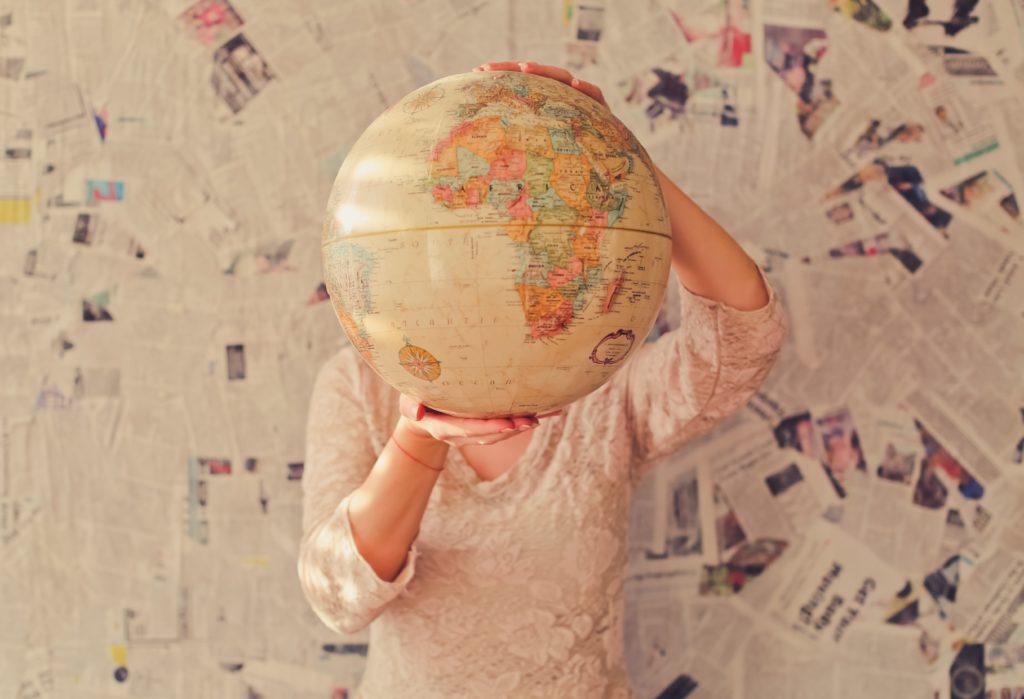 obrazek przedstawiający globus