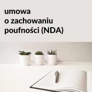 Umowa o wzajemnym zachowaniu poufności (NDA) – 2 wersje językowe: polska i angielska